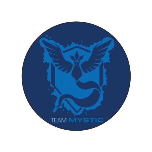 Chapa 077 - Pokemon Go - Team Mystic