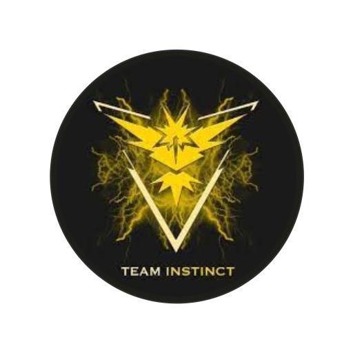 Chapa 078 - Pokemon Go - Team Instinct