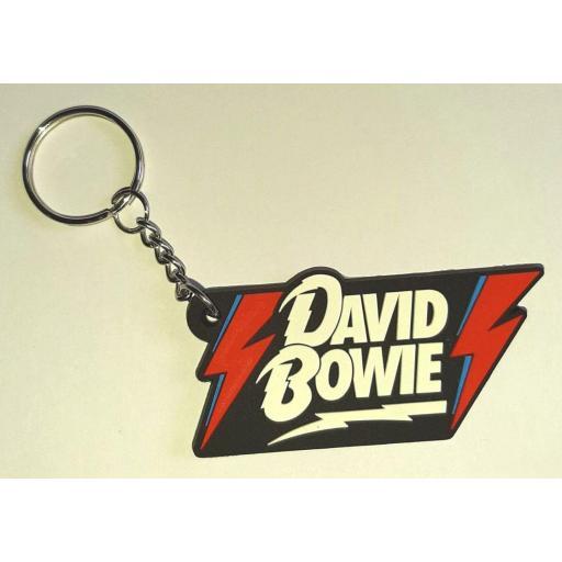 Llavero de Goma David Bowie