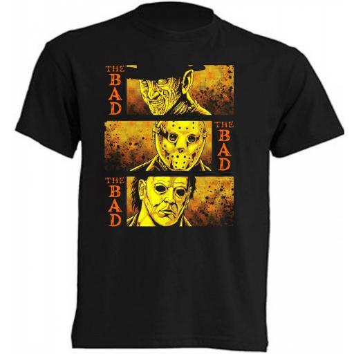 Camiseta El Malo, El Malo y el Malo