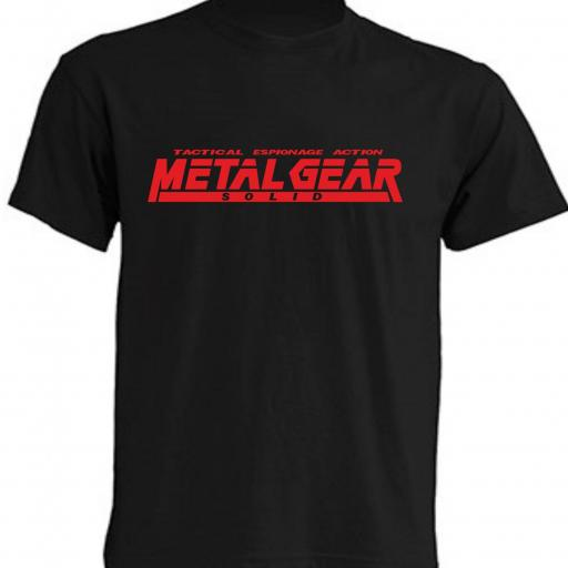 CAMISETA METAL GEAR SOLID