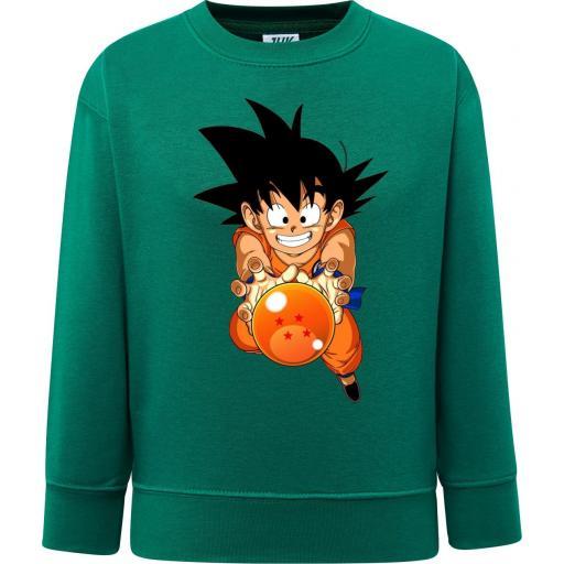 Sudadera Niño Goku Bola de Dragón - Dragon Ball [1]