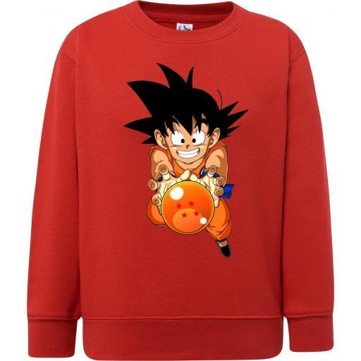 Sudadera Niño Goku Bola de Dragón - Dragon Ball