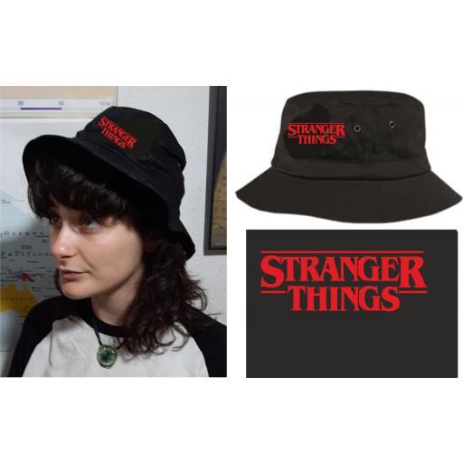 Gorro de Tela Stranger Things