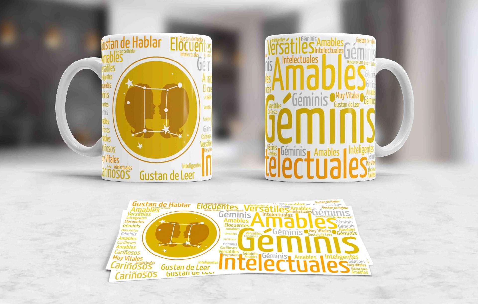 Taza Signos del Zodíaco Geminis (034)