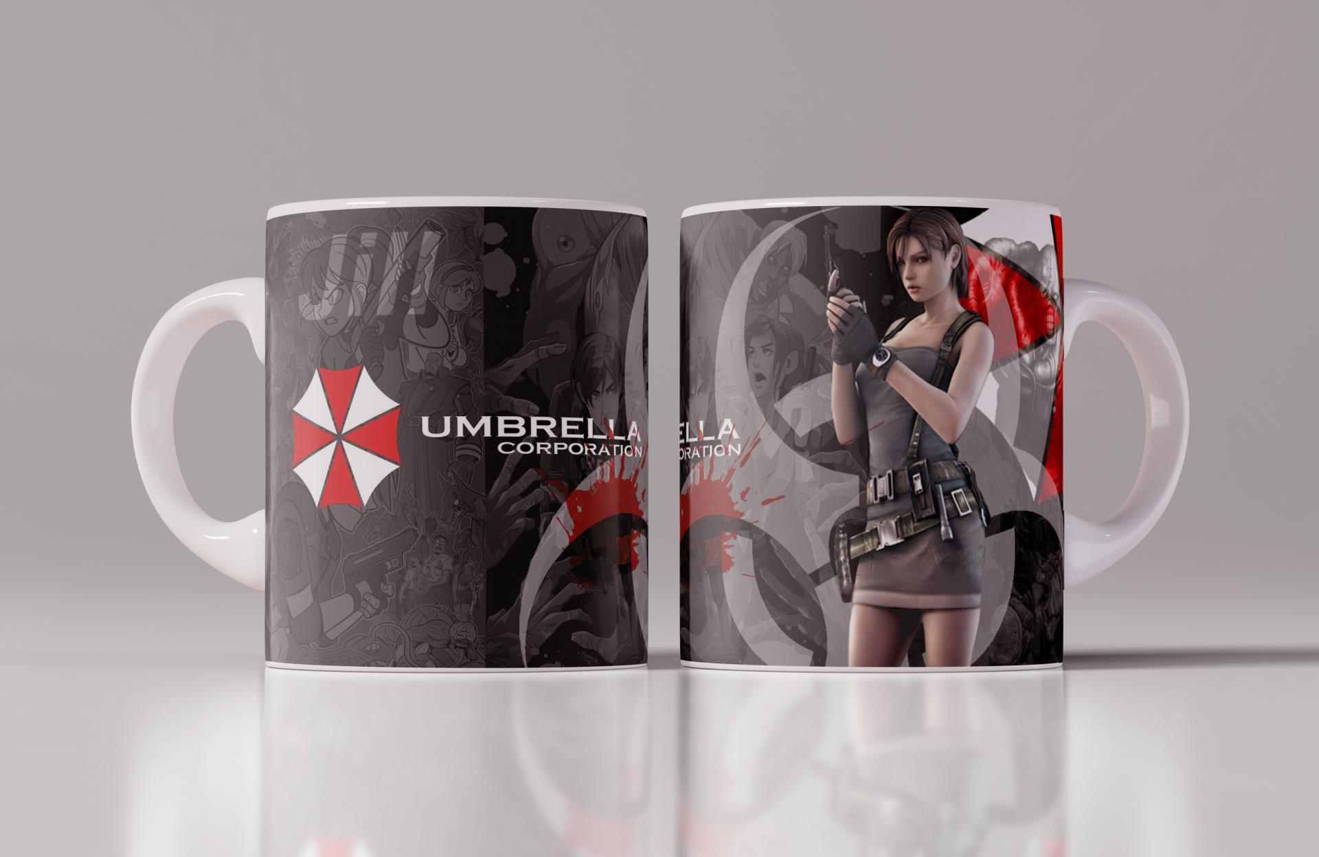 Taza Umbrella Corp Jill (115)