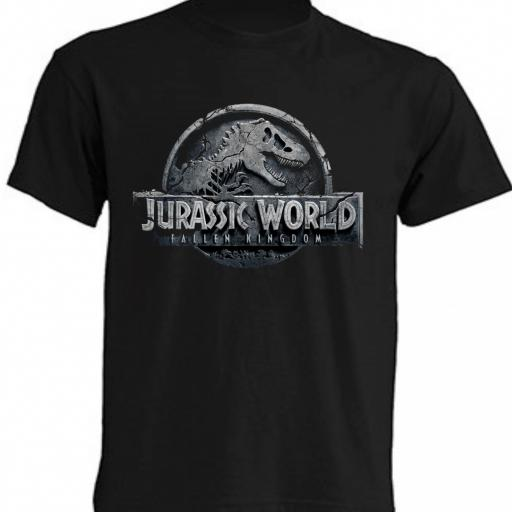 CAMISETA JURASSIC WORLD - FALLEN KINGDOM