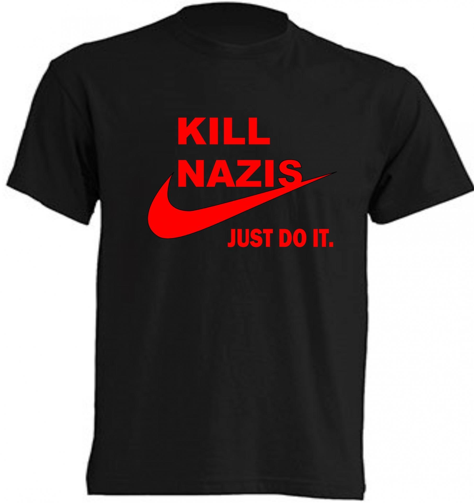 CAMISETA KILL NAZIS