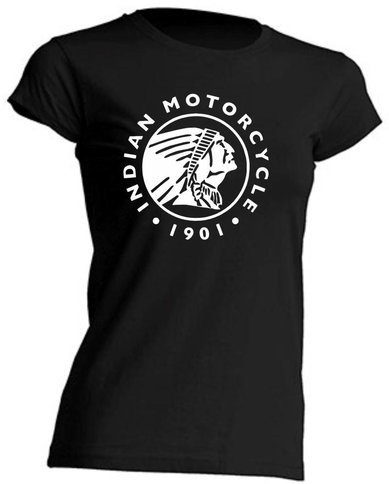 CAMISETA DE CHICA ENTALLADA INDIAN MOTORCYCLE 1901