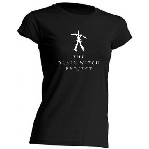 CAMISETA DE CHICA ENTALLADA THE BLAIR WITCH PROJECT