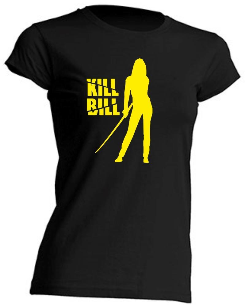 CAMISETA DE CHICA KILL BILL