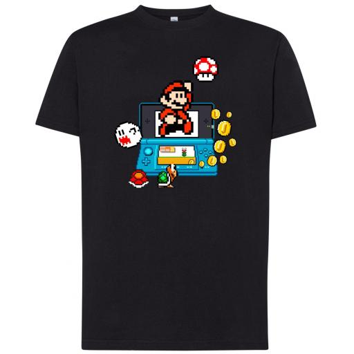 Camiseta Mario Game Boy