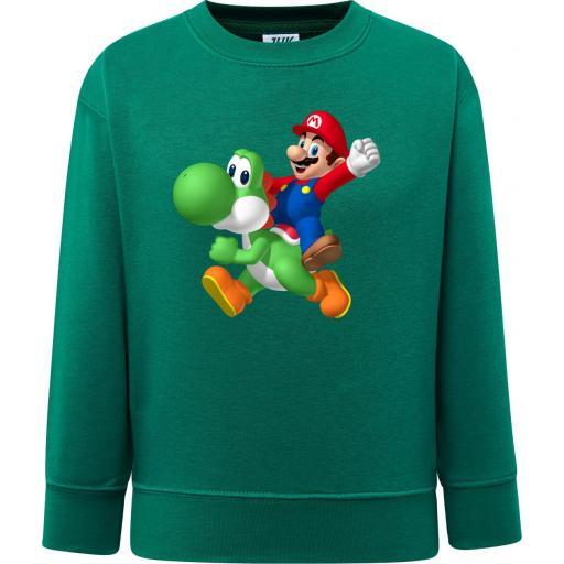 Sudadera Mario & Yoshi