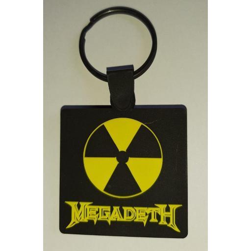 Llavero de Goma Megadeth