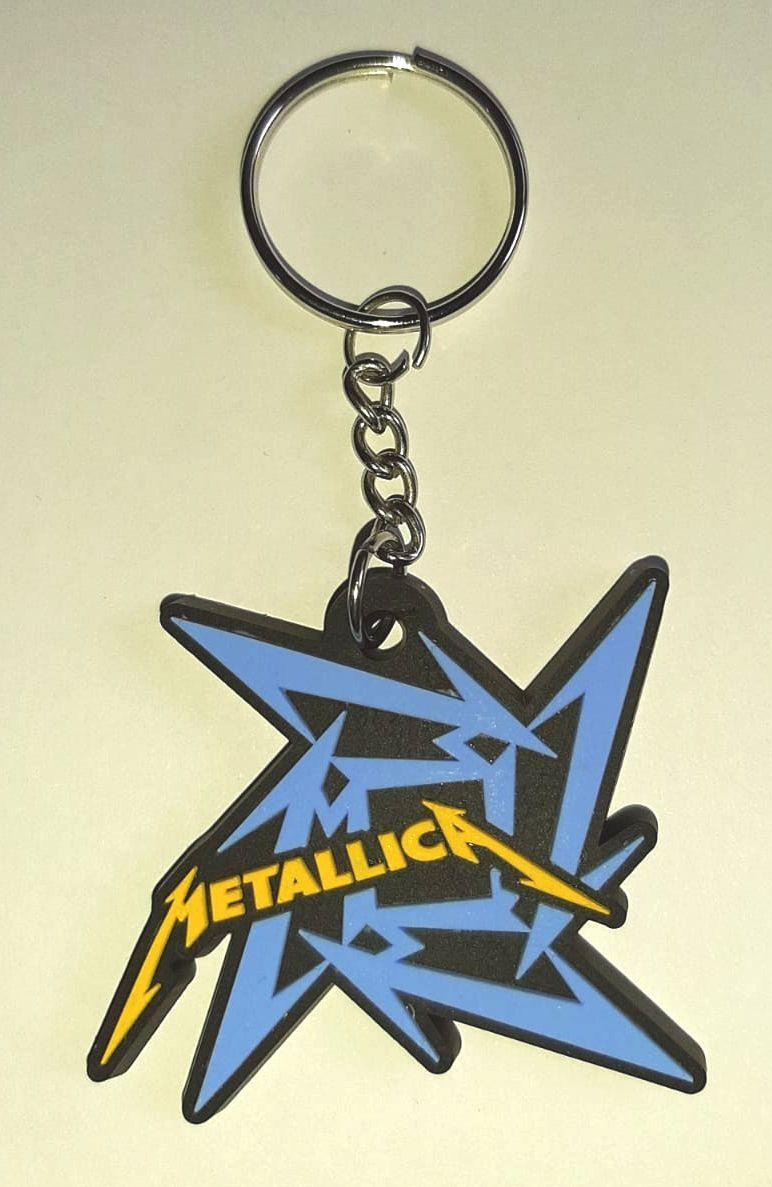 Llavero de Goma Metallica