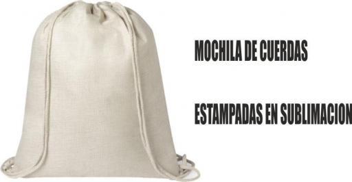 MOCHILA DE CUERDAS TIPO NATURE