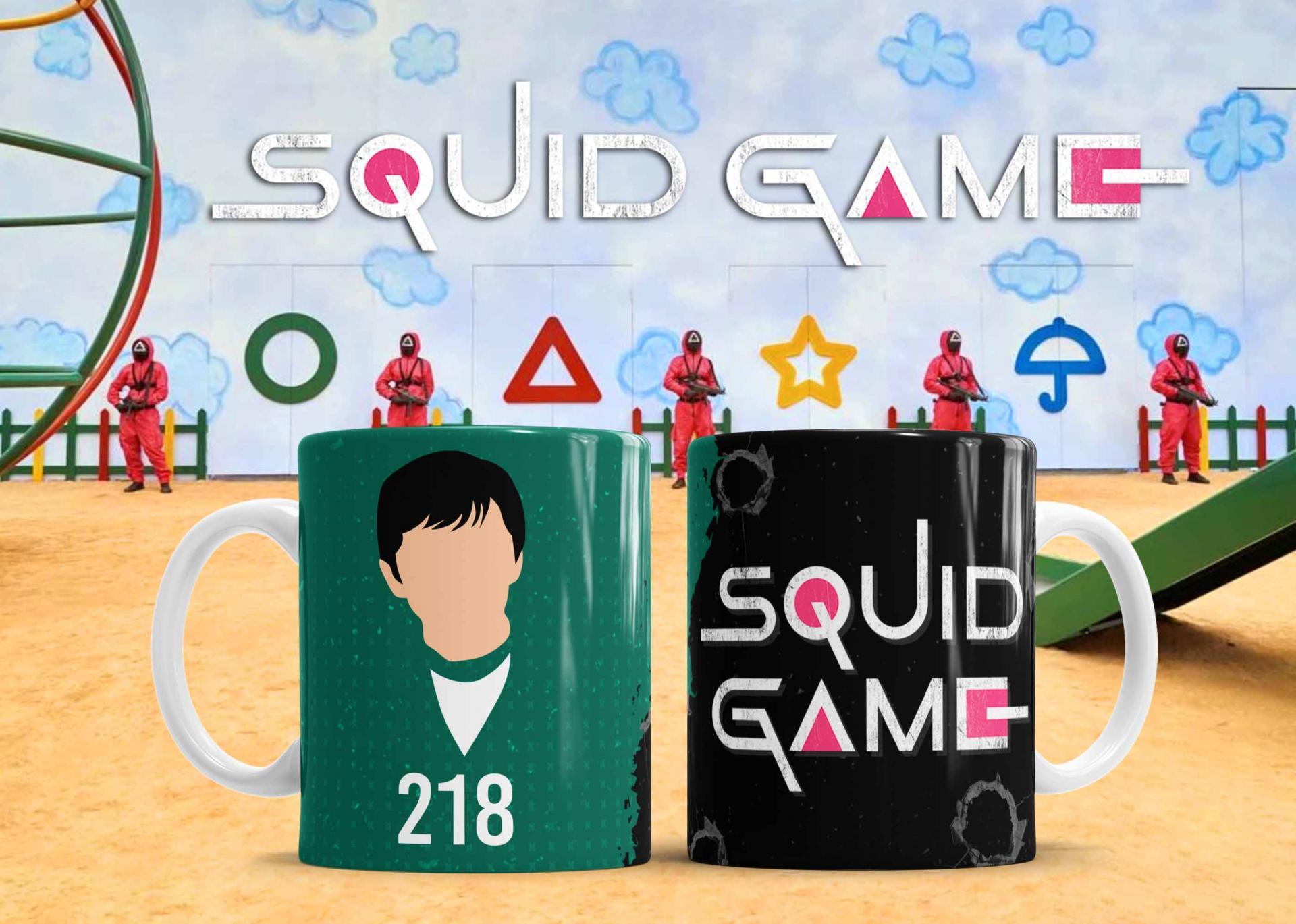 Taza Squid Game - (419)