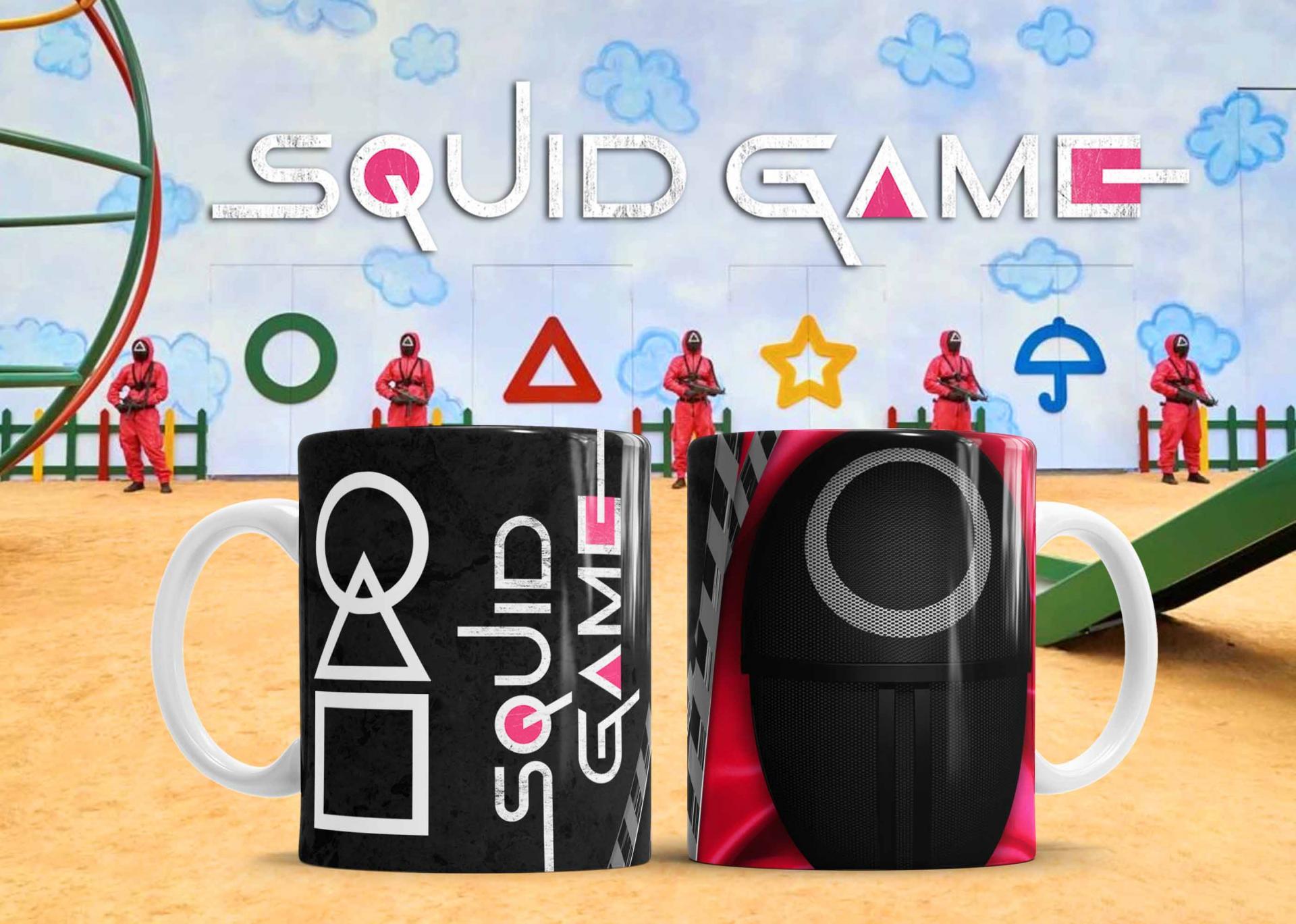 Taza Squid Game - (421)