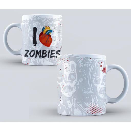 Taza I love Zombies  (139)