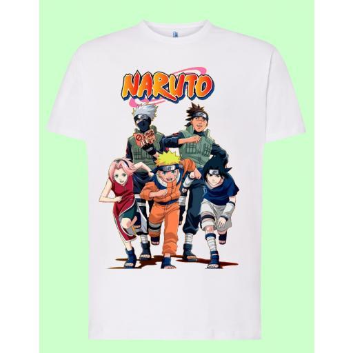 Camiseta blanca Naruto