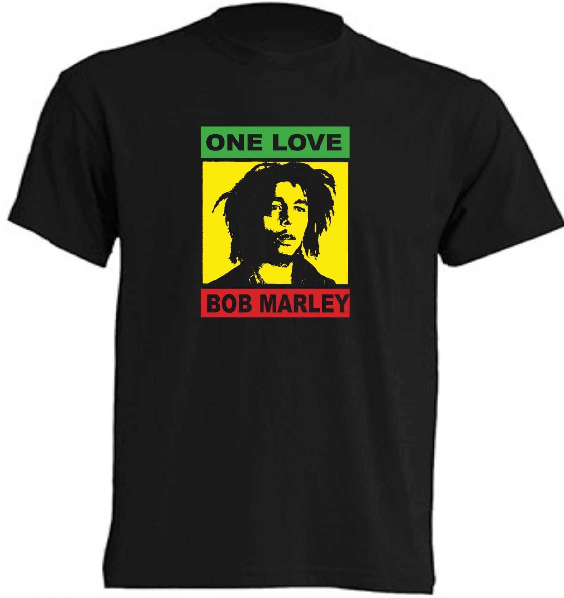 CAMISETA ONE LOVE BOB MARLEY