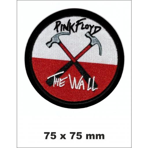 "PARCHE BORDADO PINK FLOYD ""THE WALL"""