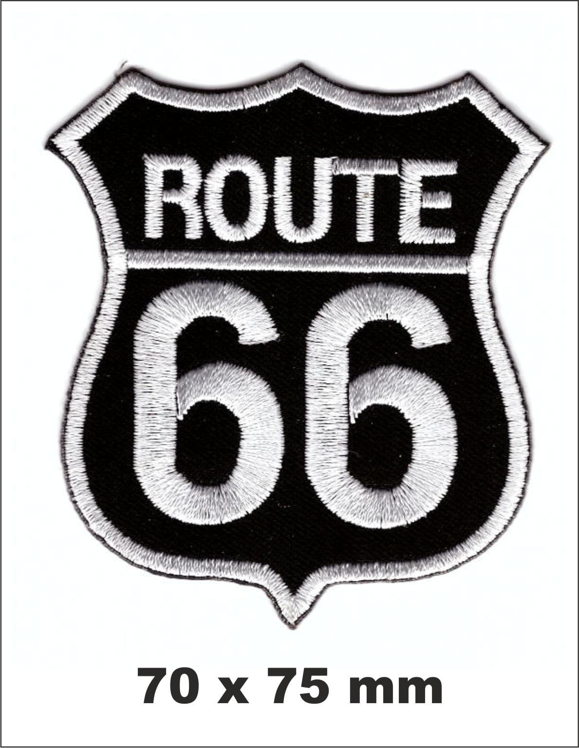 PARCHE BORDADO ROUTE 66