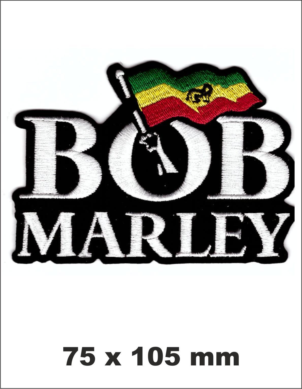 PARCHE BORDADO BOB MARLEY