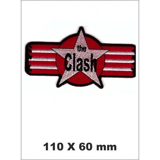 PARCHE BORDADO THE CLASH