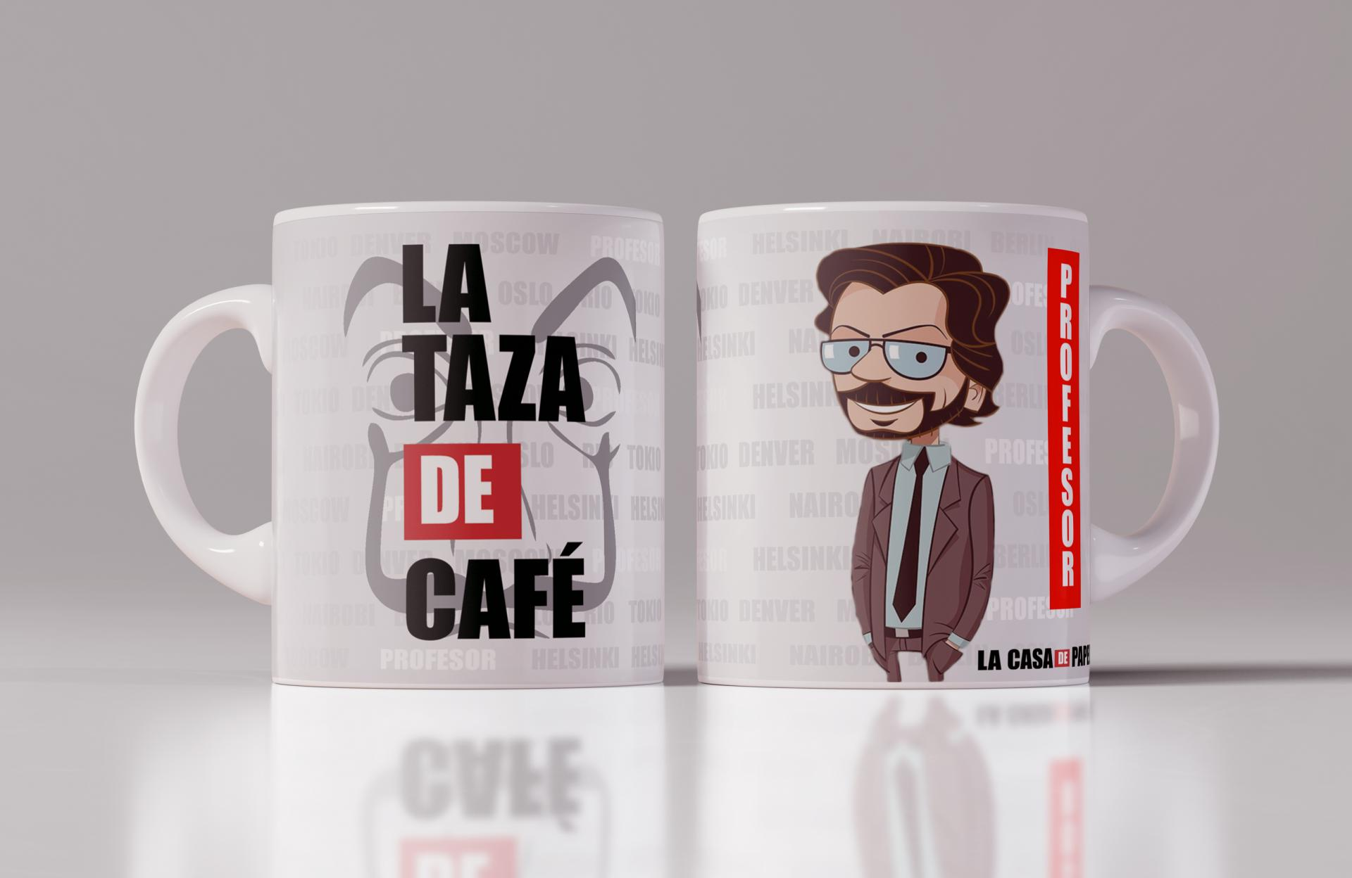 Taza La Casa de Papel - Profesor (124)