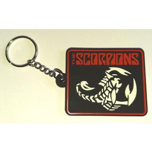 Llavero de Goma Scorpions