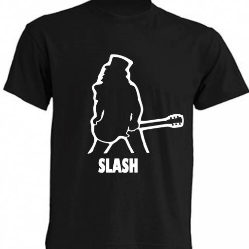 CAMISETA SLASH GUNS N ROSES