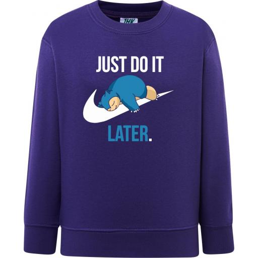 Sudadera Snorlax - Just do It