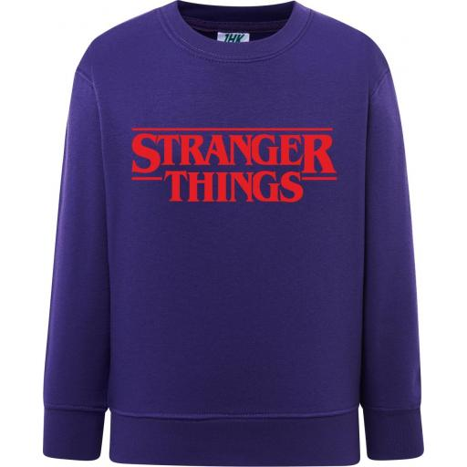 SUDADERA NIÑO STRANGER THINGS
