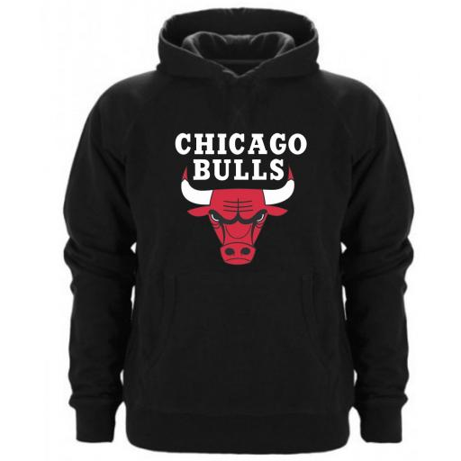 SUDADERA CAPUCHA CHICAGO BULLS