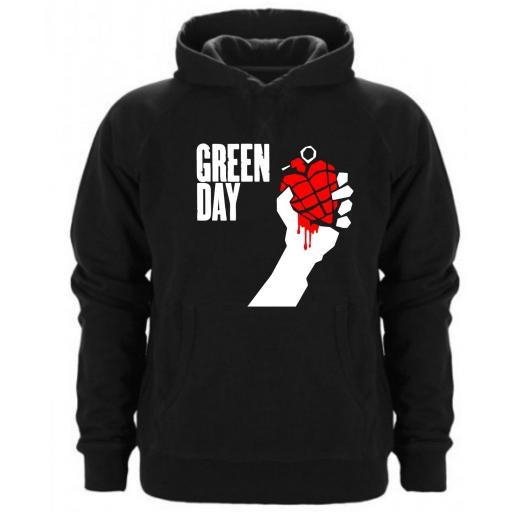 SUDADERA CAPUCHA GREEN DAY