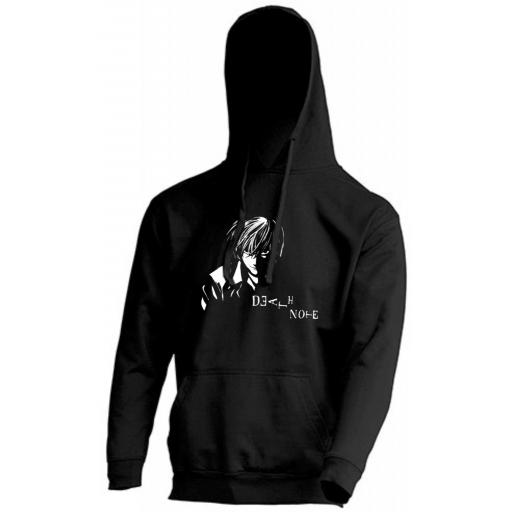 SUDADERA CAPUCHA DEATH NOTE