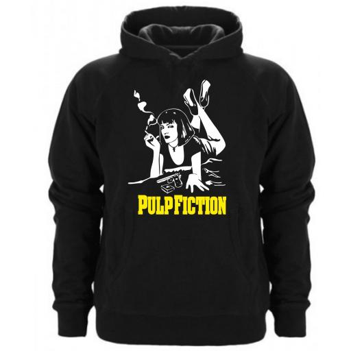 SUDADERA CAPUCHA PULP FICTION