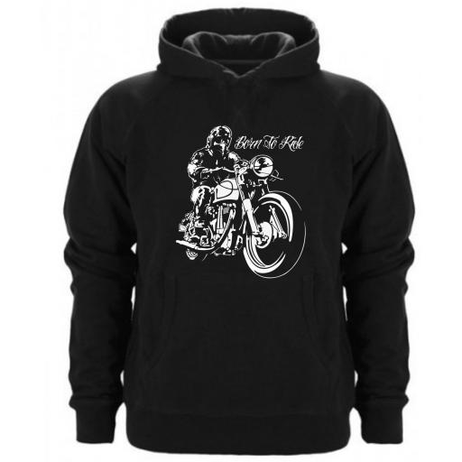 SUDADERA CAPUCHA BORN TO RIDE