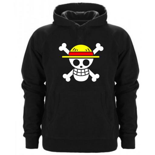 SUDADERA CAPUCHA ONE PIECE
