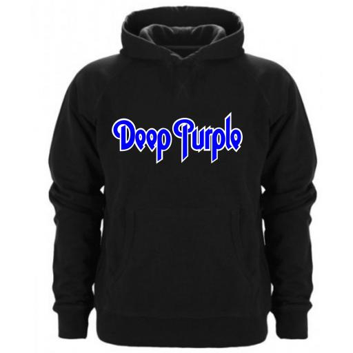 SUDADERA CAPUCHA DEEP PURPLE