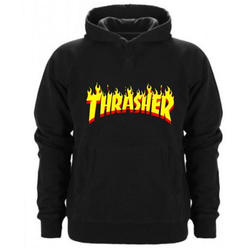 Sudadera Capucha Thrasher Fire