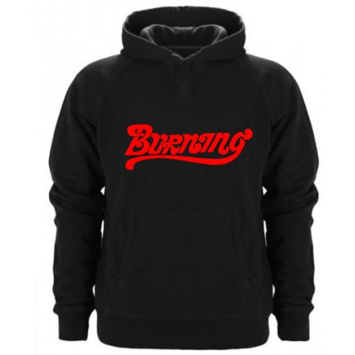Sudadera Capucha Burning