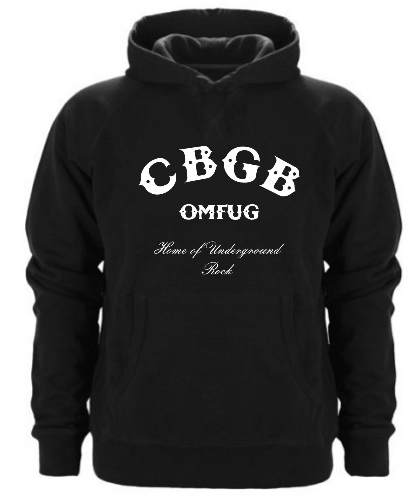 Sudadera Capucha CBGB