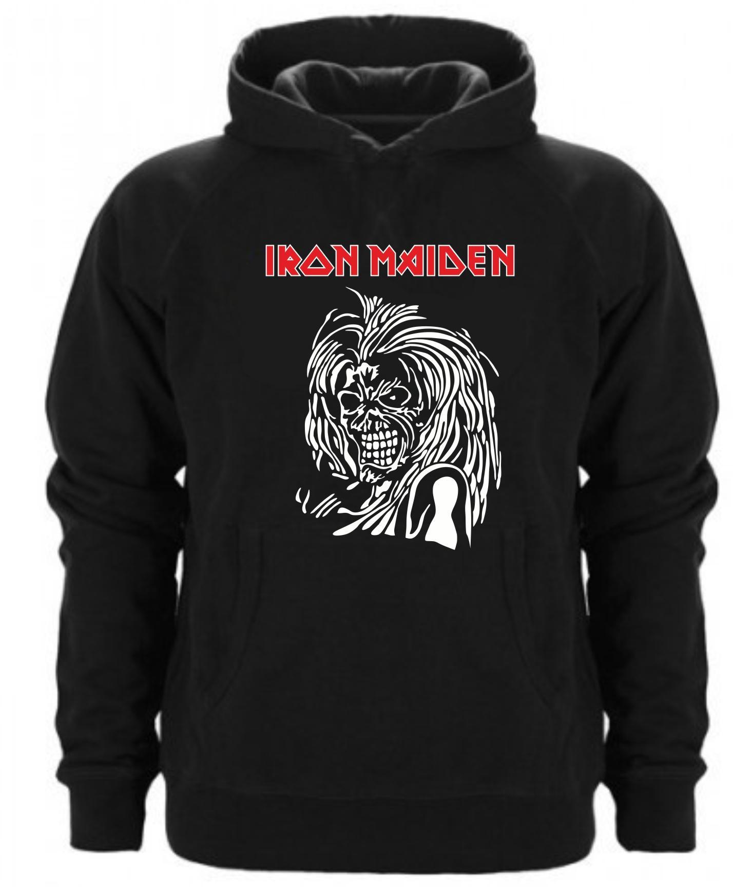 Sudadera Capucha Iron Maiden