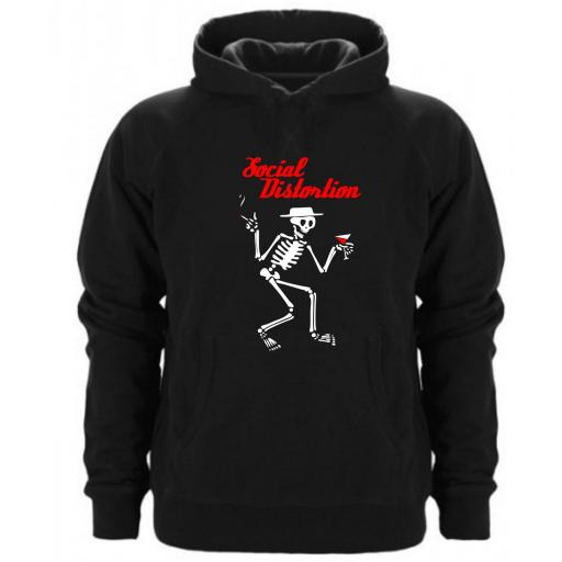 Sudadera Capucha Social Distortion