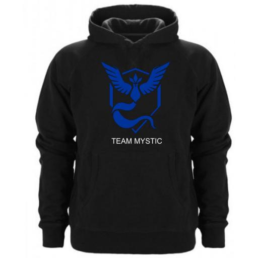 Sudadera Capucha Team Mystic Pokemon