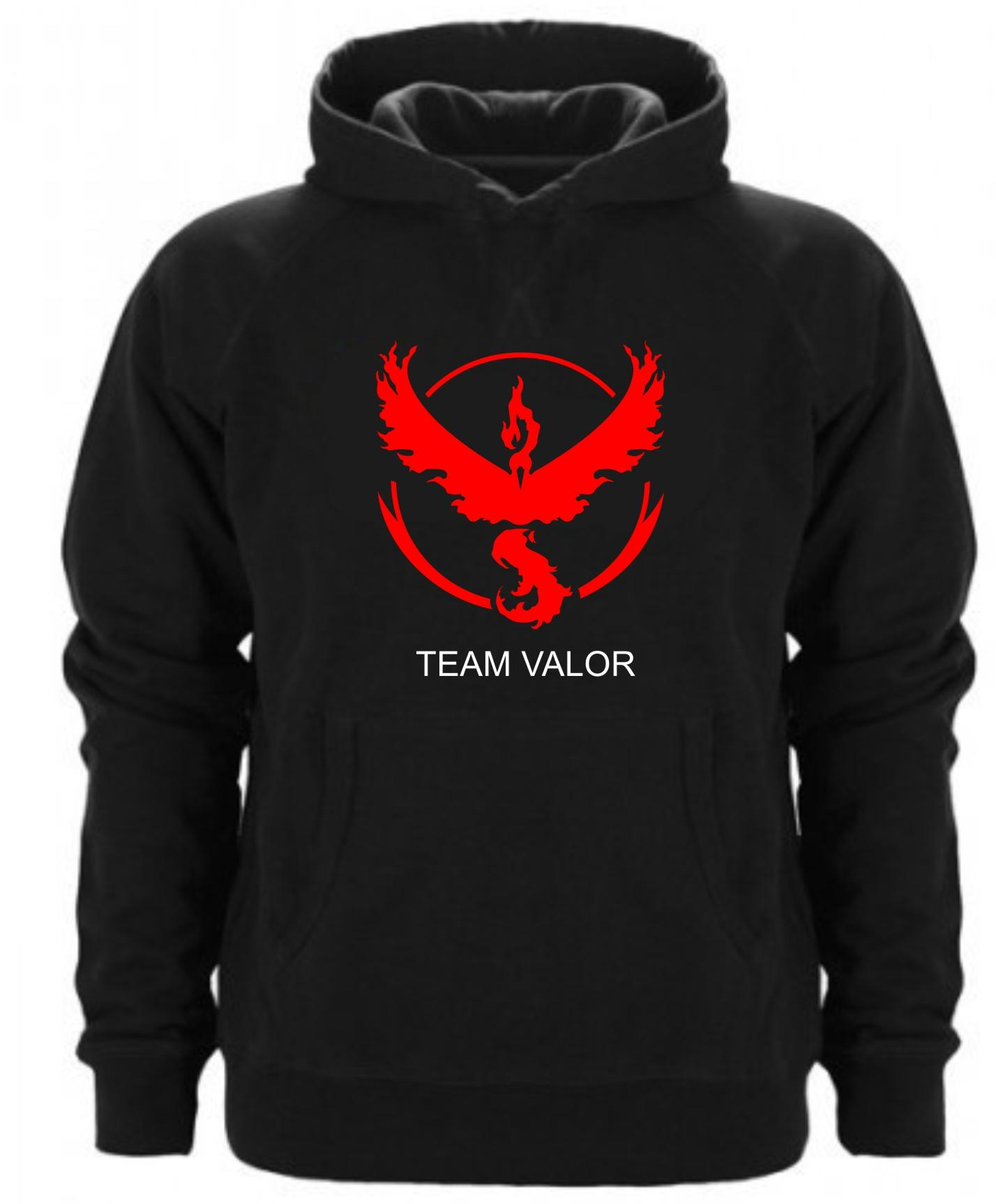 Sudadera Capucha Team Valor Pokemon