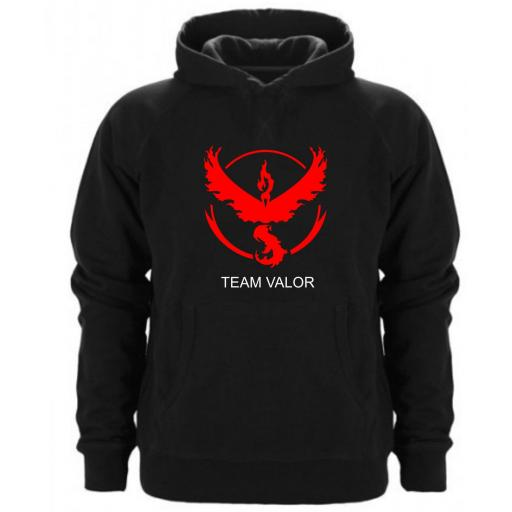 Sudadera Capucha Team Valor Pokemon [0]