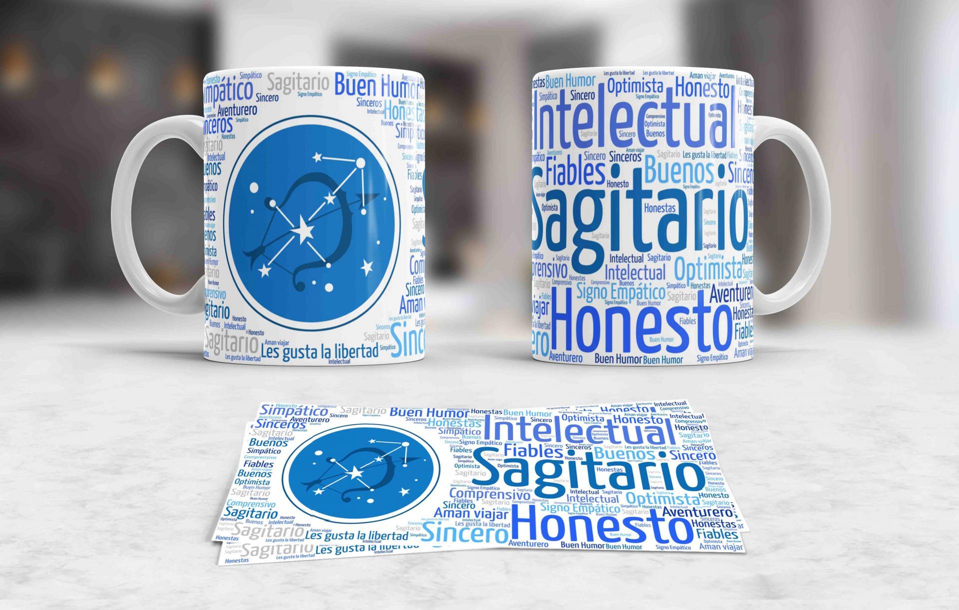 Taza Signos del Zodíaco Sagitario (038)